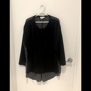 Black blouse- 20W - Molly Bracken